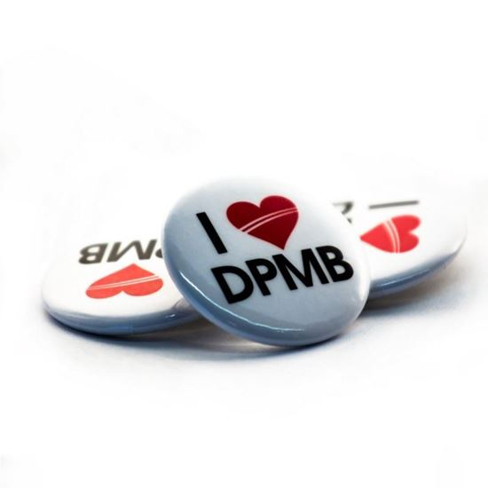 Obrázek z Odznak – placka I love DPMB