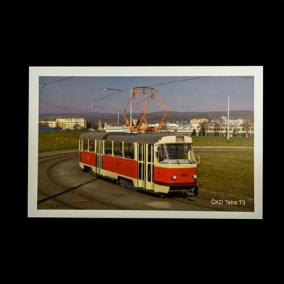 Obrázek Pohlednice ČKD Tatra T3