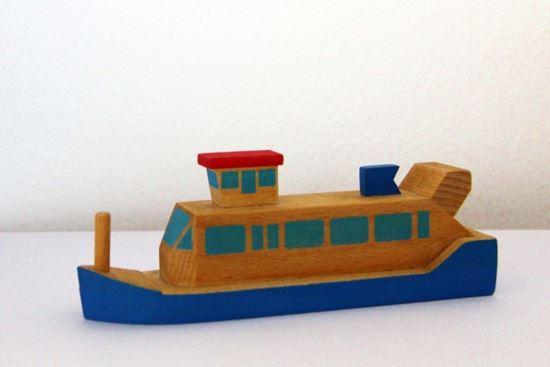 Obrázek z Dřevěná lodička