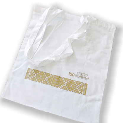 Obrázek Plátěná taška 150 let MHD