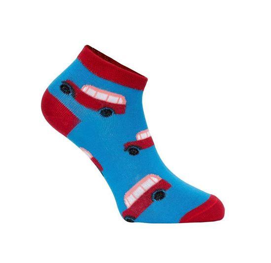 Obrázek z Výroční ponožky krátké s autobusy