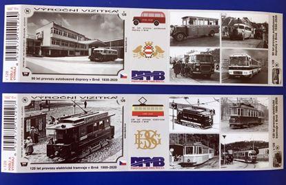 Obrázek Turistická vizitka - výroční 120let tramvajové dopravy