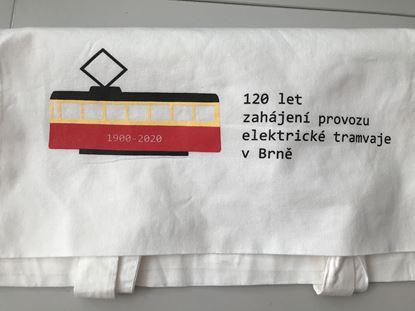 Obrázek Plátěná taška - tramvaj