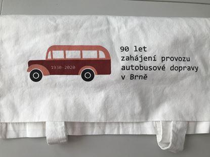 Obrázek Plátěná taška - autobus