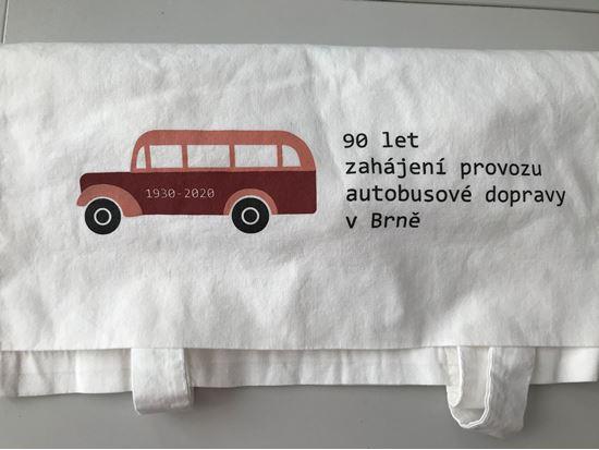 Obrázek z Plátěná taška - autobus