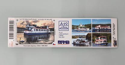 Obrázek Výroční vizitka  lodní dopravy V 160